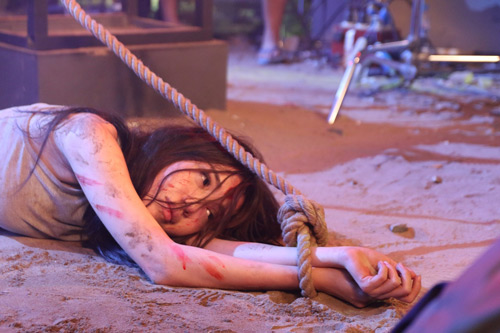 Lộ hình ảnh Minh Thuận gày gò trong bộ phim mới nhất - 4