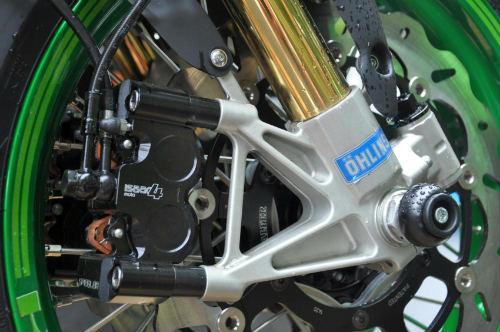 Soi Kawasaki Vulcan S độ như quái vật xanh - 15