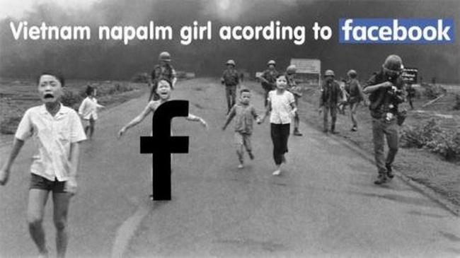 """Ông chủ Facebook bị chỉ trích vì cấm ảnh """"Em bé napalm"""" - 2"""