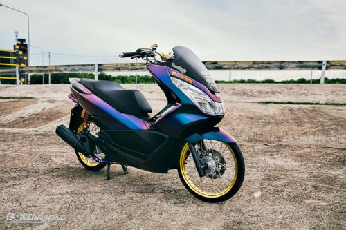 """Ngắm Honda PCX 150 độ vàng siêu đắt của """"dân chơi"""" - 1"""