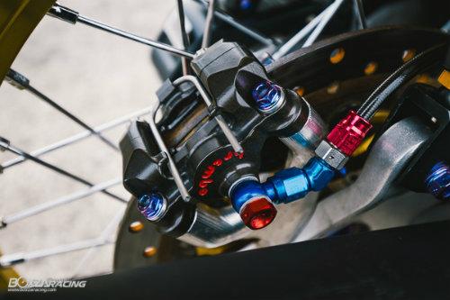 """Ngắm Honda PCX 150 độ vàng siêu đắt của """"dân chơi"""" - 5"""