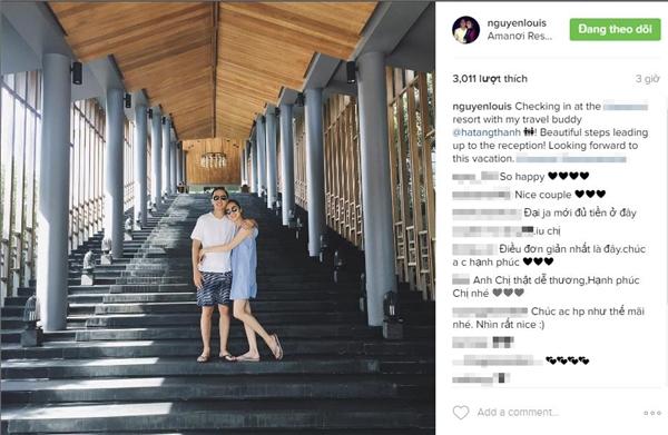 """Vợ chồng Hà Tăng ôm nhau hạnh phúc ở nơi """"sang chảnh"""" - 1"""