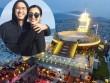 """Vợ chồng Hà Tăng ôm nhau hạnh phúc ở nơi """"sang chảnh"""""""