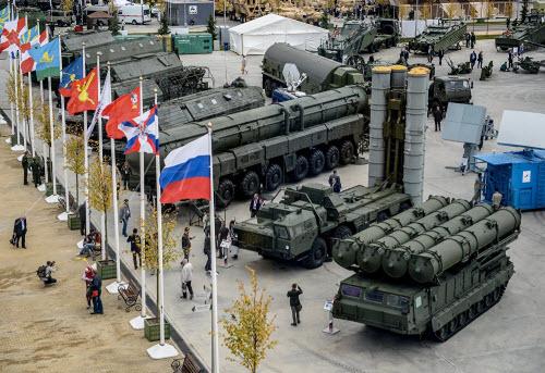 Dàn vũ khí khủng của Nga tại triển lãm Army 2016 - 5