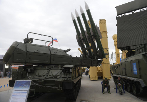 Dàn vũ khí khủng của Nga tại triển lãm Army 2016 - 9