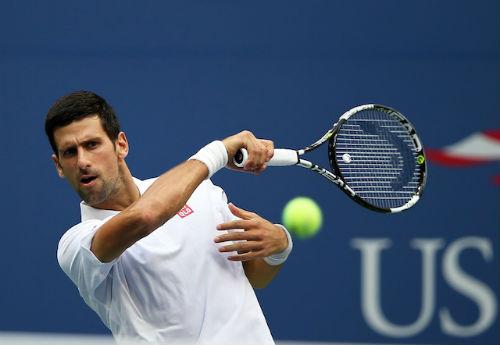 Djokovic - Monfils: Ngẫu hứng đọ tài đẳng cấp (BK US Open) - 1