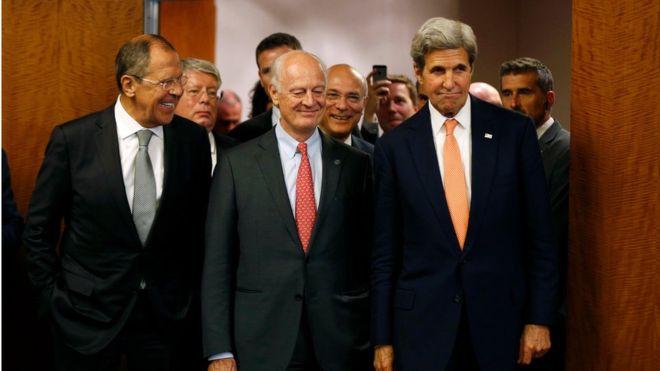 Nga và Mỹ đạt được thỏa thuận ngừng bắn ở Syria - 1