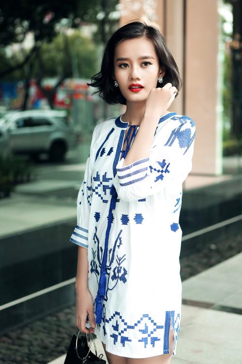 Kim Chi gợi ý cách phối đồ thu cực xinh với tóc ngắn - 13