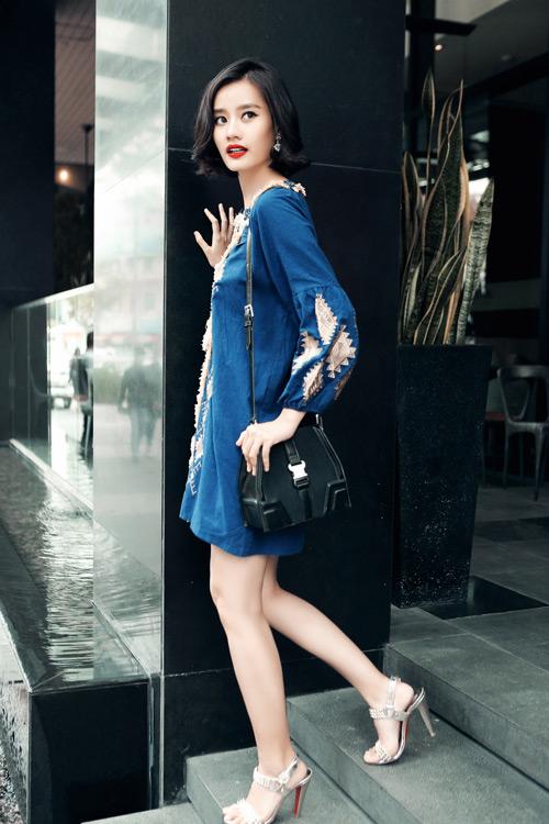 Kim Chi gợi ý cách phối đồ thu cực xinh với tóc ngắn - 19
