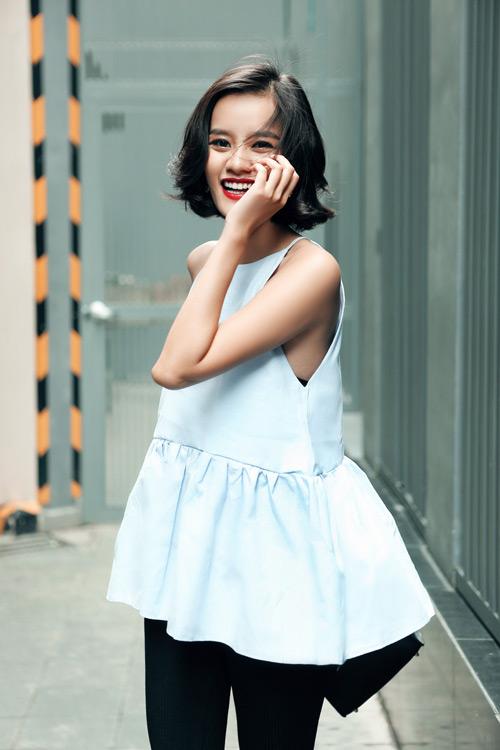 Kim Chi gợi ý cách phối đồ thu cực xinh với tóc ngắn - 17