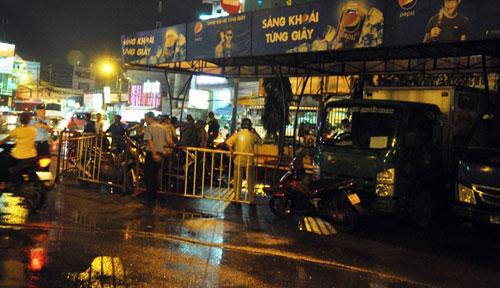 Xác định nghi can nổ súng truy sát ở bến xe miền Đông - 1