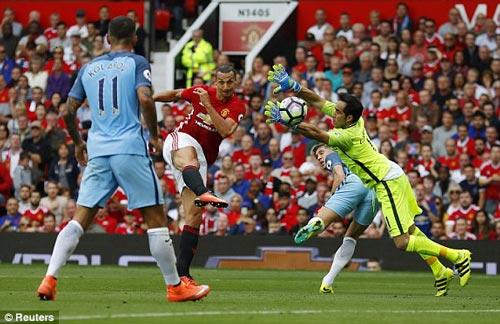 Chùm ảnh derby Manchester: Cảm xúc thăng trầm - 7