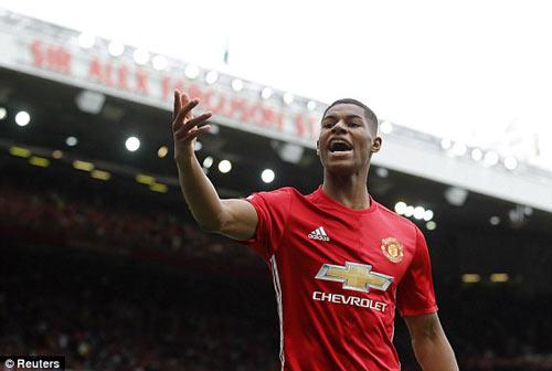 Chùm ảnh derby Manchester: Cảm xúc thăng trầm - 8