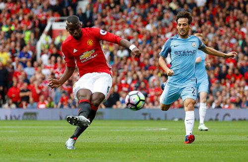 Chùm ảnh derby Manchester: Cảm xúc thăng trầm - 11
