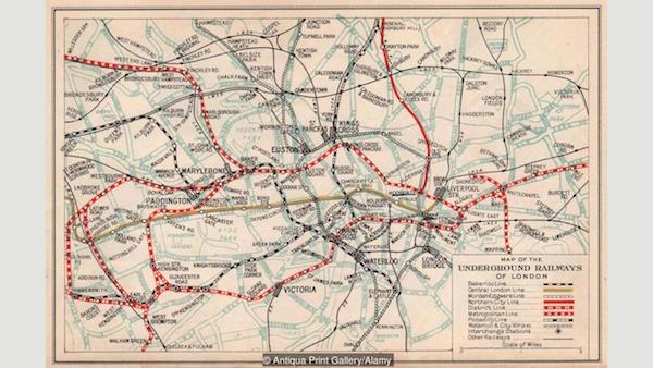 Bí mật kinh dị của tàu điện ngầm London - 1