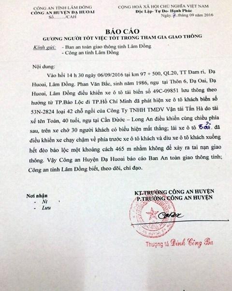 Công an Lâm Đồng: Cứu xe khách xong, anh Bắc rất run - 4