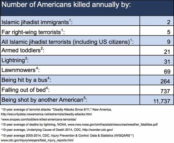 Người Mỹ tự bắn giết nhau nhiều gấp 7.300 lần khủng bố - 1