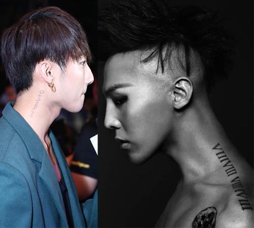 Hình xăm khắp cơ thể Sơn Tùng giống hệt của G-Dragon - 5
