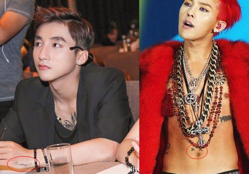 Hình xăm khắp cơ thể Sơn Tùng giống hệt của G-Dragon - 9