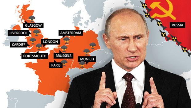 Nếu Nga tấn công hạt nhân, một nửa châu Âu bị san phẳng - 1