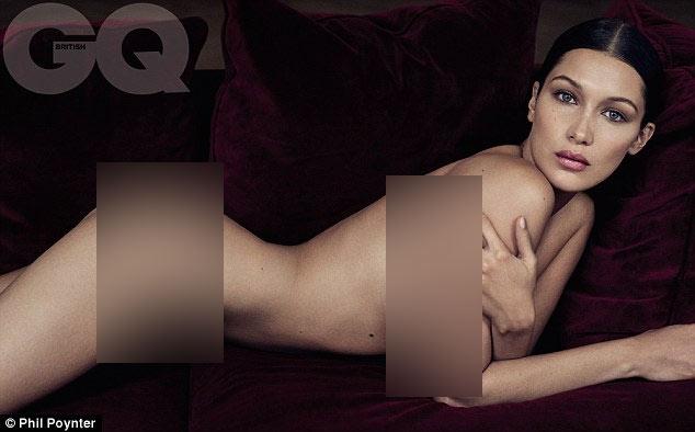 """""""Người mẫu của năm 2016"""" táo bạo khỏa thân trên tạp chí - 1"""
