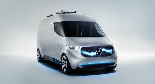 Mercedes-Benz ra mắt Vision Van concept mang cả UAV - 3