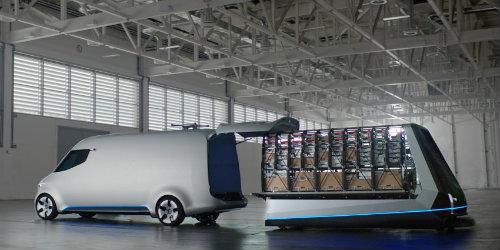 Mercedes-Benz ra mắt Vision Van concept mang cả UAV - 8
