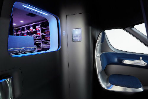 Mercedes-Benz ra mắt Vision Van concept mang cả UAV - 7
