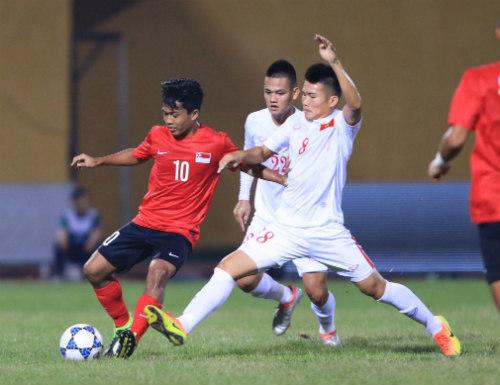 """U19 Việt Nam - U19 Singapore: Lệch lạc """"thước ngắm"""" - 1"""
