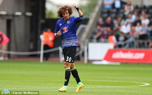 Chi tiết Swansea - Chelsea: Costa gỡ hòa với siêu phẩm (KT) - 16