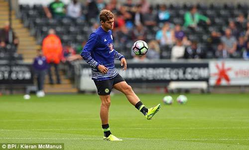 Chi tiết Swansea - Chelsea: Costa gỡ hòa với siêu phẩm (KT) - 17