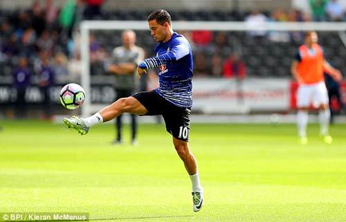 Chi tiết Swansea - Chelsea: Costa gỡ hòa với siêu phẩm (KT) - 18