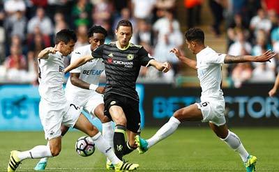 Chi tiết Swansea - Chelsea: Costa gỡ hòa với siêu phẩm (KT) - 3