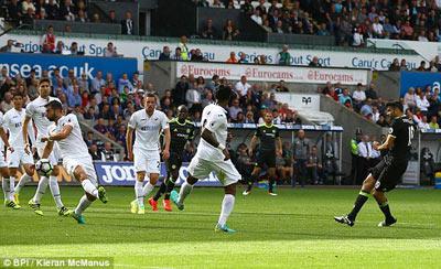 Chi tiết Swansea - Chelsea: Costa gỡ hòa với siêu phẩm (KT) - 5