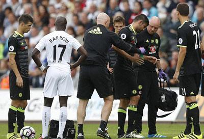 Chi tiết Swansea - Chelsea: Costa gỡ hòa với siêu phẩm (KT) - 9
