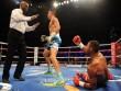 """Boxing: """"Cậu bé vàng"""" Golovkin khiến đối thủ nhập viện"""