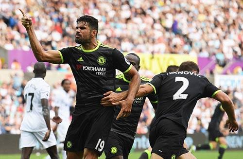 Swansea - Chelsea: Nghẹt thở tới cuối - 1