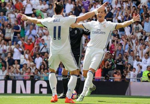 Ronaldo linh cảm Real sẽ truất ngôi Barca mùa này - 1
