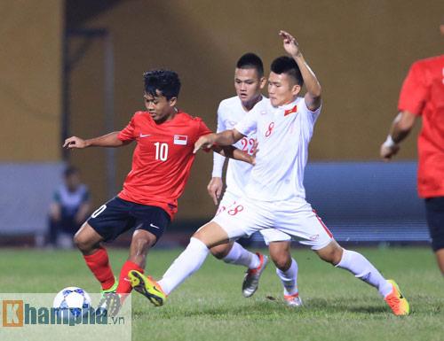 HLV Hoàng Anh Tuấn không hài lòng với chân sút U19 VN - 5