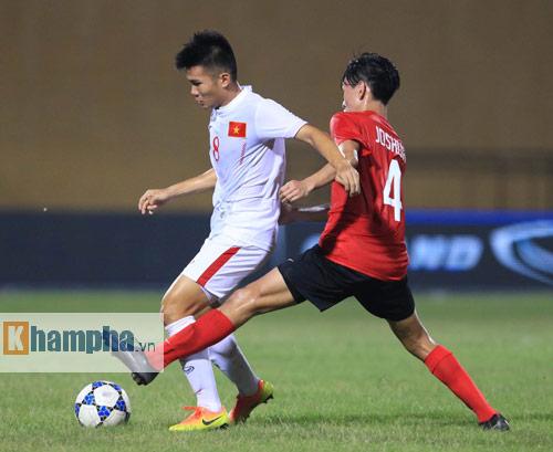 HLV Hoàng Anh Tuấn không hài lòng với chân sút U19 VN - 9