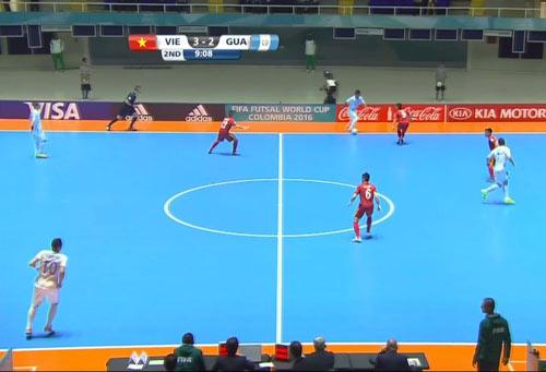 Futsal Việt Nam - Guatemala: Chiến thắng lịch sử - 1