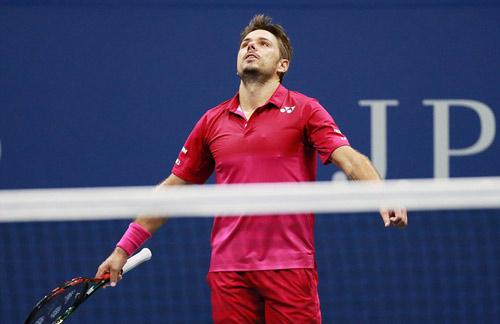 Góc ảnh CK US Open: Djokovic đổ máu, Wawrinka rơi lệ - 1