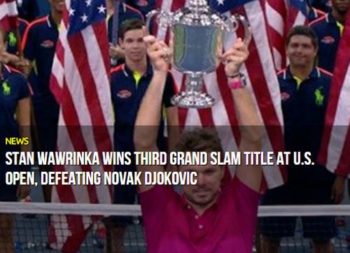 CK US Open: Hạ Djokovic, thế giới ngả mũ trước Wawrinka - 4