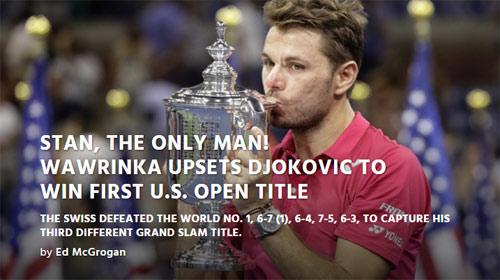 CK US Open: Hạ Djokovic, thế giới ngả mũ trước Wawrinka - 5