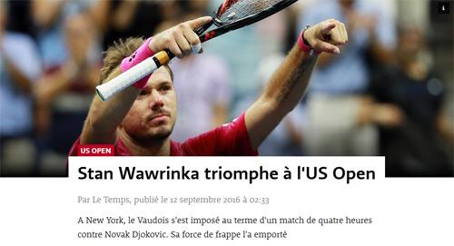 CK US Open: Hạ Djokovic, thế giới ngả mũ trước Wawrinka - 8