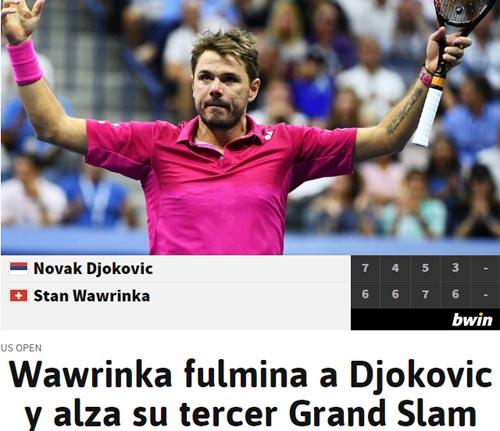 CK US Open: Hạ Djokovic, thế giới ngả mũ trước Wawrinka - 7