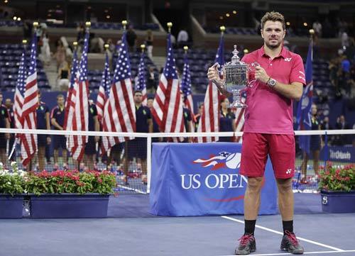 Góc ảnh CK US Open: Djokovic đổ máu, Wawrinka rơi lệ - 3