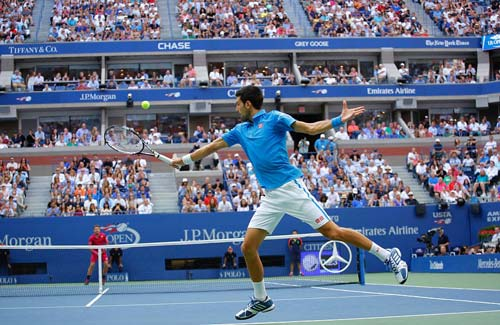 Góc ảnh CK US Open: Djokovic đổ máu, Wawrinka rơi lệ - 9