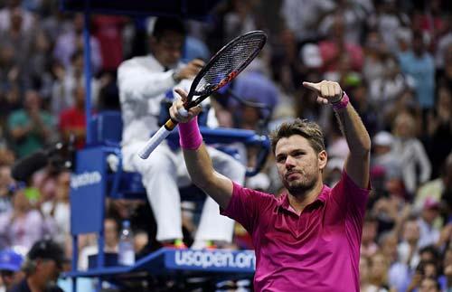 Góc ảnh CK US Open: Djokovic đổ máu, Wawrinka rơi lệ - 12