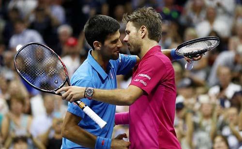 Góc ảnh CK US Open: Djokovic đổ máu, Wawrinka rơi lệ - 13